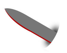 example drop point blade