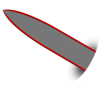 example spear point blade